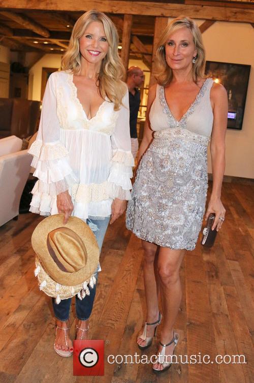 Sonja Morgan and Christie Brinkley
