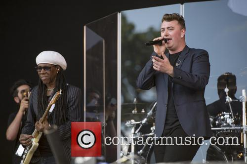 Sam Smith and Nile Rodgers 2