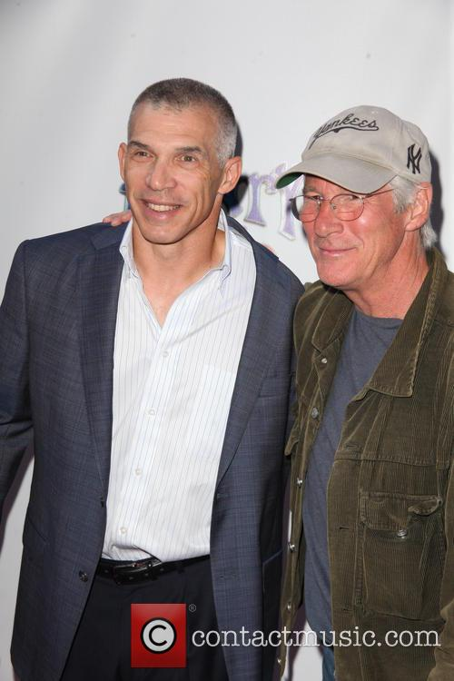 Joe Girardi and Richard Gere 2