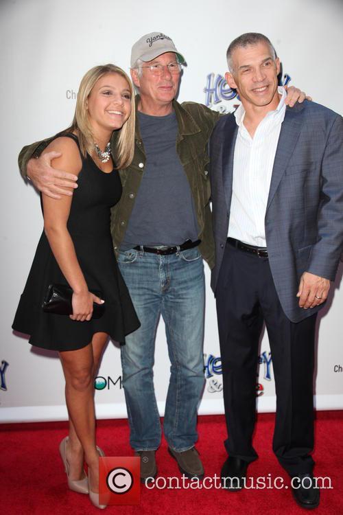Serena Girardi, Richard Gere and Joe Girardi 1