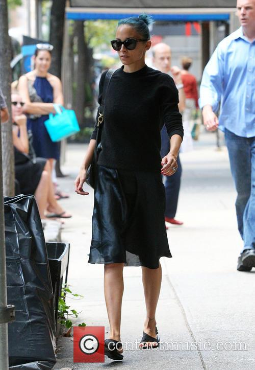 Nicole Richie out and about