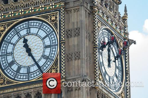 Big Ben Clock cleaning