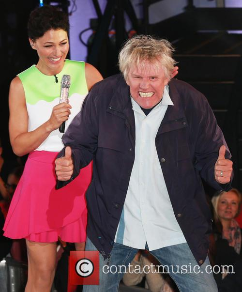 Gary Busey and Emma Willis 9