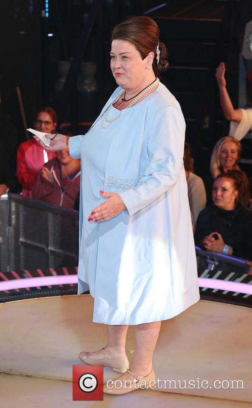 white dee dee kelly celebrity big brother launch 4330351