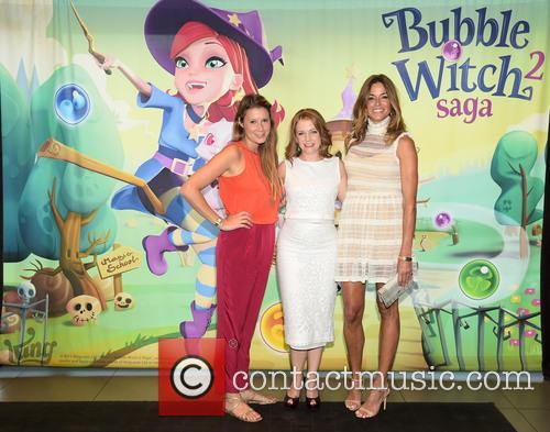 Melissa Joan Hart, Kelly Bensimon and Alexis Wolfer 2