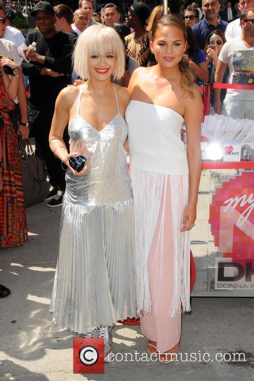 Rita Ora and Chrissy Teigen 9