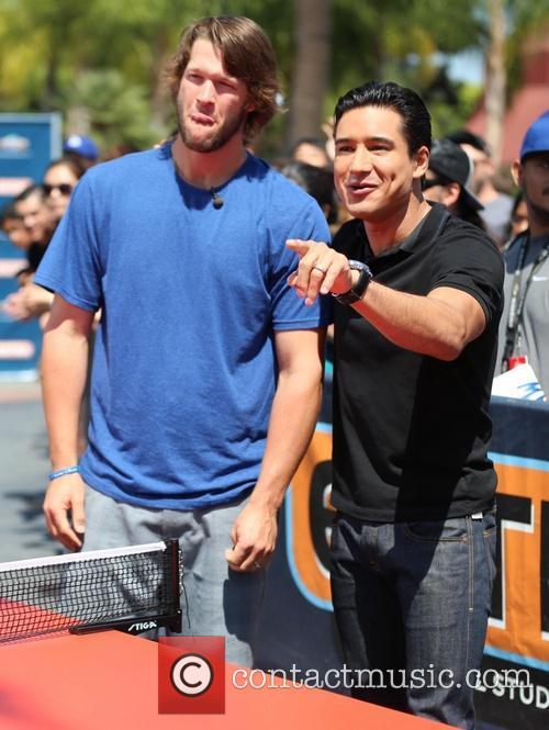 Clayton Kershaw and Mario Lopez 9