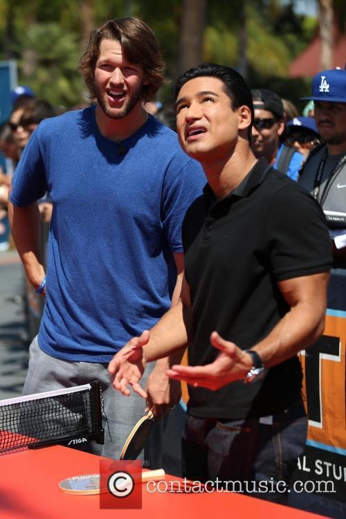 Clayton Kershaw and Mario Lopez 10