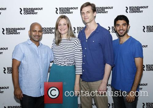 Ajay Naidu, Romola Garai, Lee Aaron Rosen and Omar Maskati 2