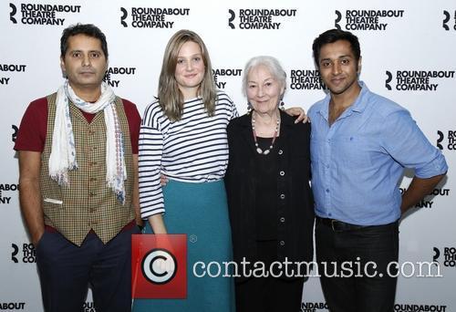Firdous Bamji, Romola Garai, Rosemary Harris and Bhavesh Patel 3