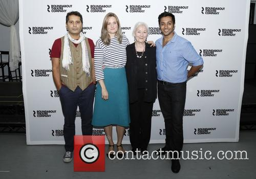 Firdous Bamji, Romola Garai, Rosemary Harris and Bhavesh Patel 1