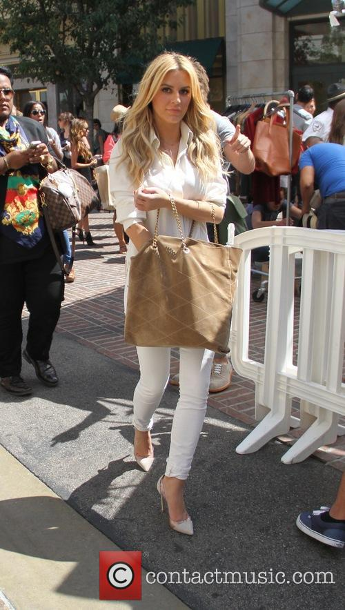 Morgan Stewart out shopping in Hollywood