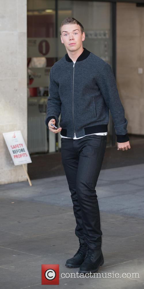 Will Poulter at BBC Radio 1