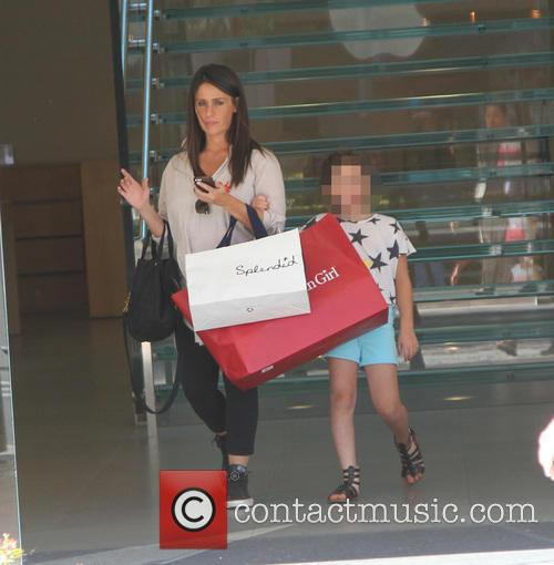 Soleil Moon Frye takes her daughter shopping in...