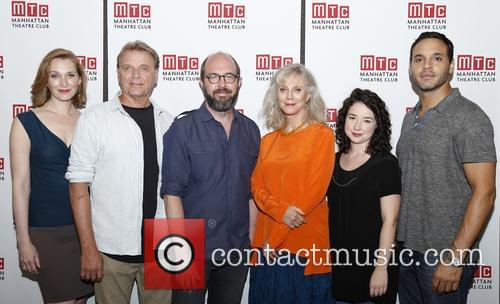 Kate Jennings Grant, David Rasche, Eric Lange, Blythe Danner, Sarah Steele and Daniel Sunjata 5