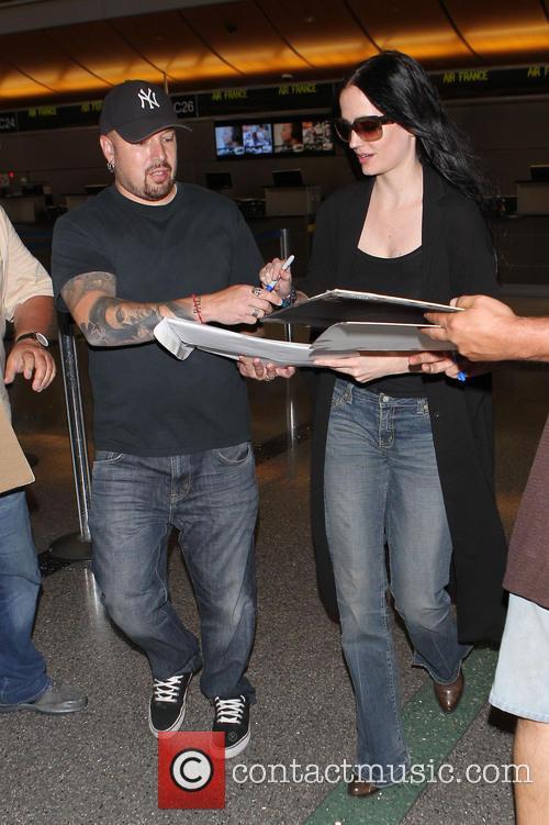 Eva Green at LAX