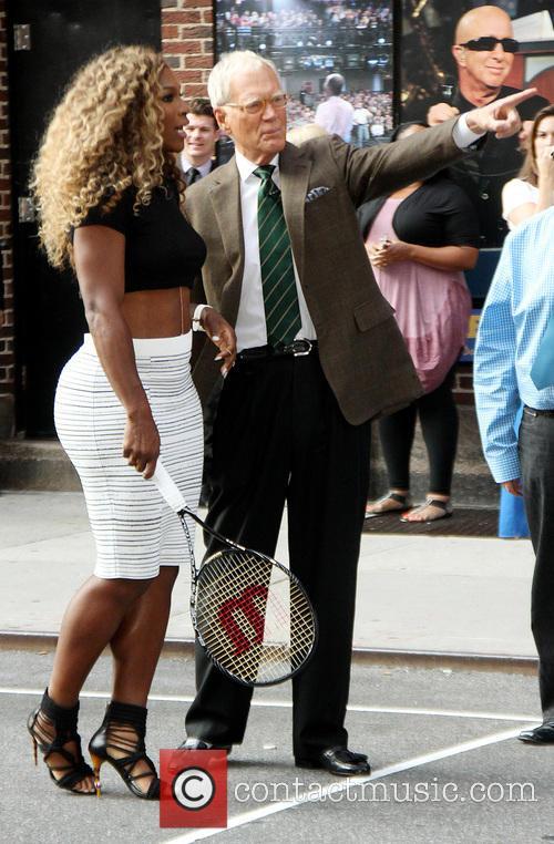 Serena Williams and David Letterman 10