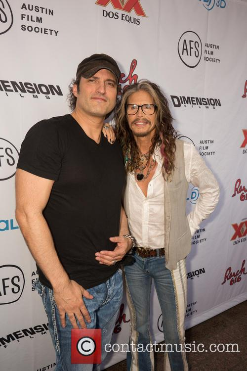 Robert Rodriguez and Steven Tyler 7