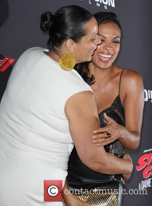 Rosario Dawson and Isabel Celeste 4