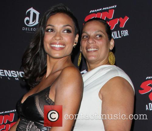 Rosario Dawson and Isabel Celeste 1