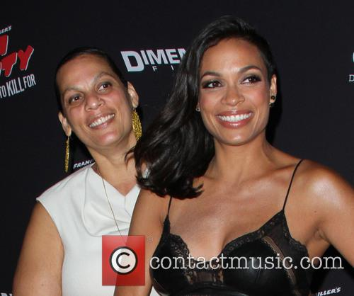 Rosario Dawson and Isabel Celeste 8