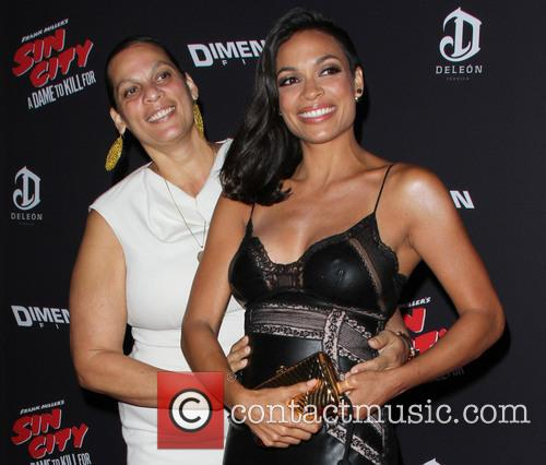 Rosario Dawson and Isabel Celeste 9