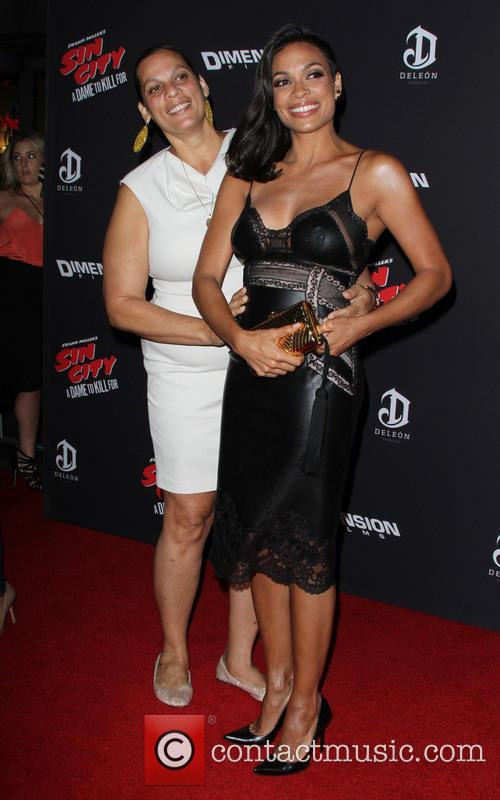 Rosario Dawson and Isabel Celeste 10