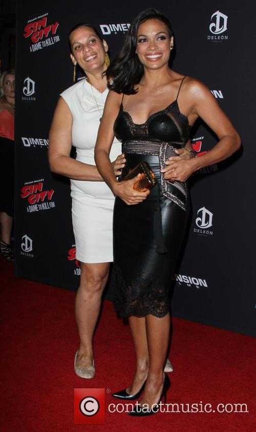Rosario Dawson and Isabel Celeste 11