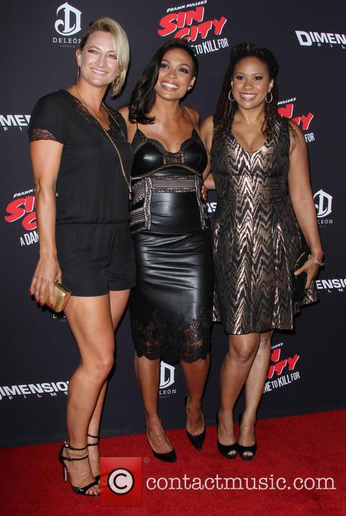 Zoe Bell, Rosario Dawson and Tracie Thoms 1