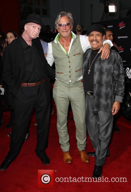 Frank Miller, Mickey Rourke and Danny Trejo 5