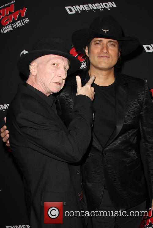 Frank Miller, Robert Rodriguez, TCL Chinese Theatre