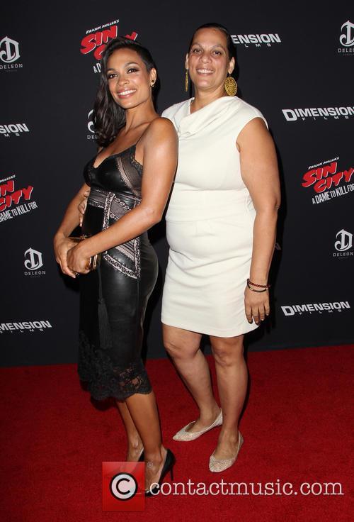 Rosario Dawson and Isabel Celeste 5
