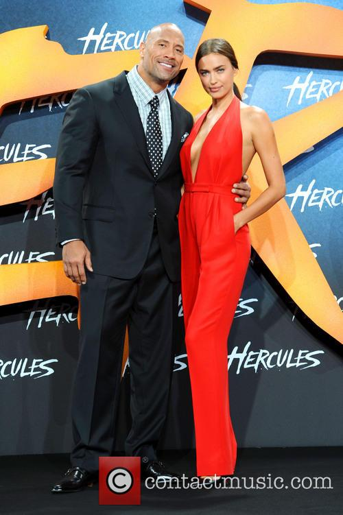 Dwayne Johnson and Irina Shayk 7