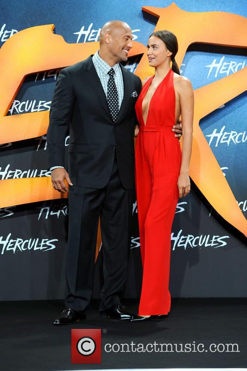 Dwayne Johnson and Irina Shayk 11