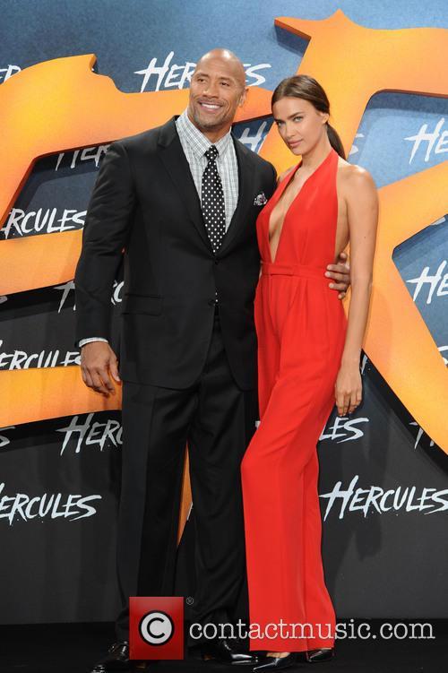 Dwayne Johnson and Irina Shayk 4