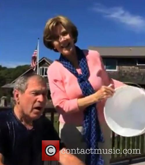 George W. Bush and Laura Bush 3