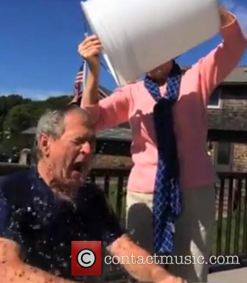George W. Bush and Laura Bush 5