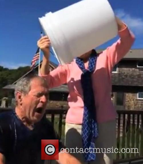 George W. Bush and Laura Bush 7