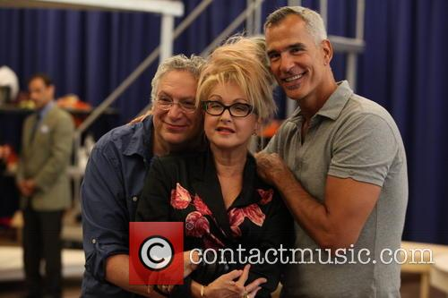 Cyndi Lauper, Harvey Fierstein and Jerry Mitchell 2