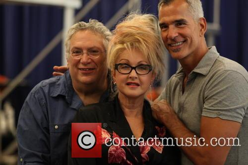 Cyndi Lauper, Harvey Fierstein and Jerry Mitchell 3