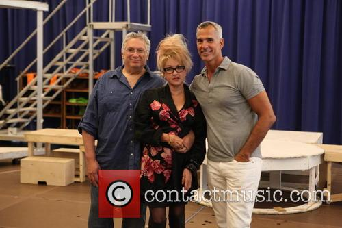 Cyndi Lauper, Harvey Fierstein and Jerry Mitchell 4