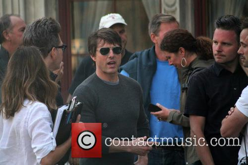 Tom Cruise, Christopher Mcquarrie and Guest 11