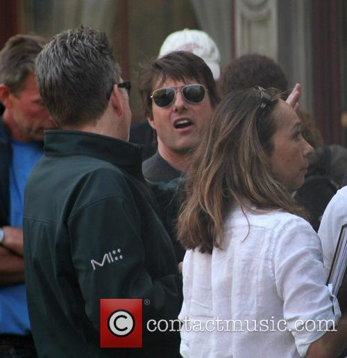Tom Cruise, Christopher McQuarrie and Guest 6