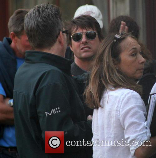 Tom Cruise, Christopher McQuarrie and Guest 8