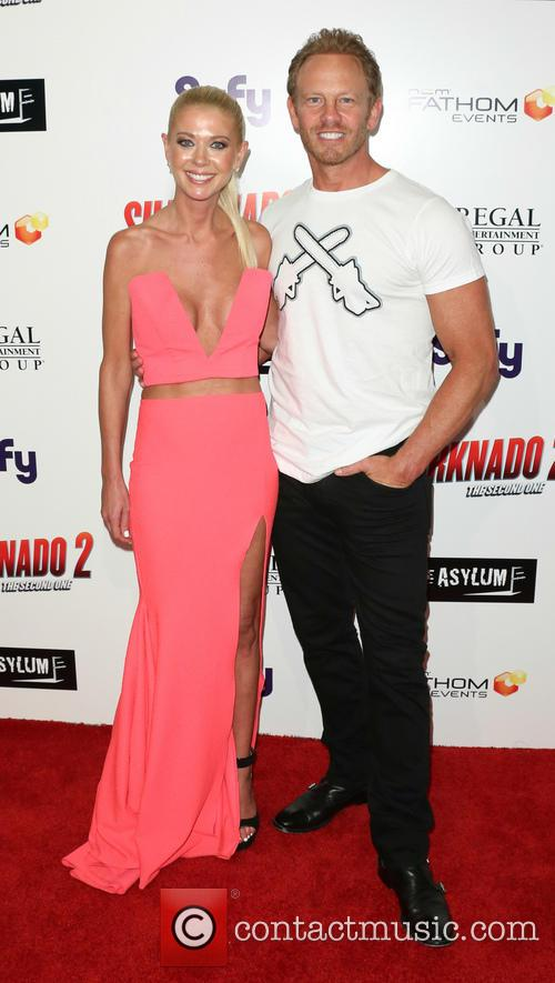 Ian Ziering and Tara Reid