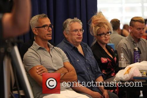 Cyndi Lauper, Harvey Fierstein and Jerry Mitchell 1