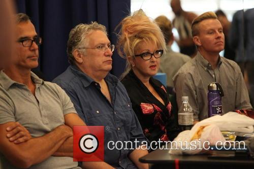 Cyndi Lauper, Harvey Fierstein and Jerry Mitchell 9