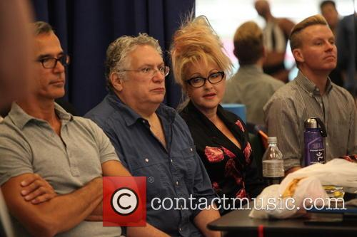 Cyndi Lauper, Harvey Fierstein and Jerry Mitchell 10