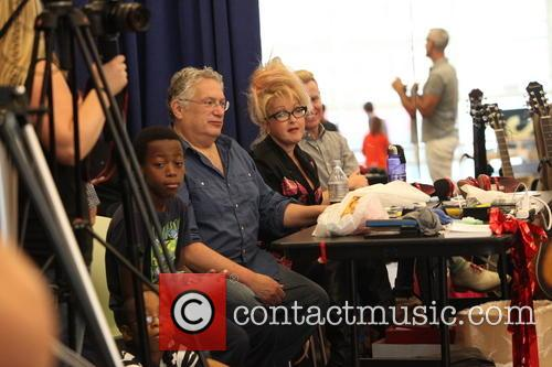 Cyndi Lauper, Harvey Fierstein and Jerry Mitchell 11