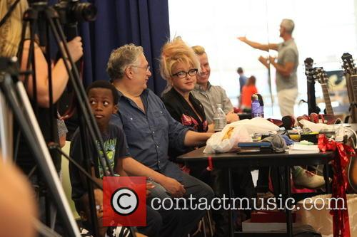 Cyndi Lauper, Harvey Fierstein and Jerry Mitchell 12